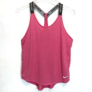 Nike Dri-Fit T-Strap Just Do It Tank Top Size S